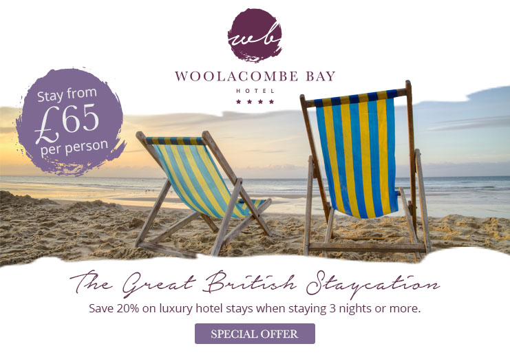 Great British Staycation - Save 20%