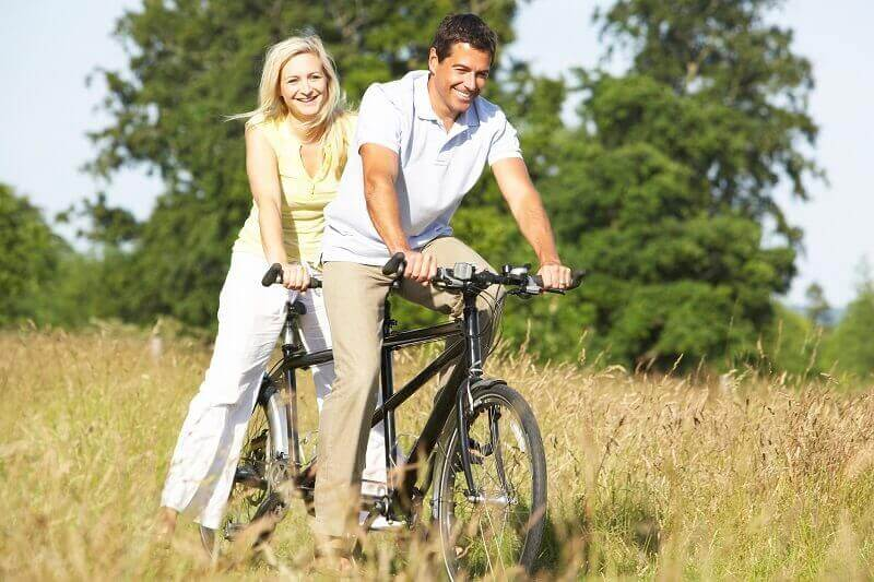 Tandem bike hire Devon